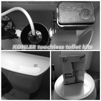 Kohler Touchless Toilet Kit